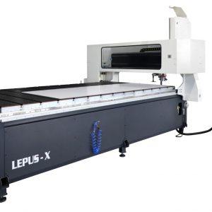 מכונת לעיבוד פלטות אלוקובונד CNC   LEPUS – X